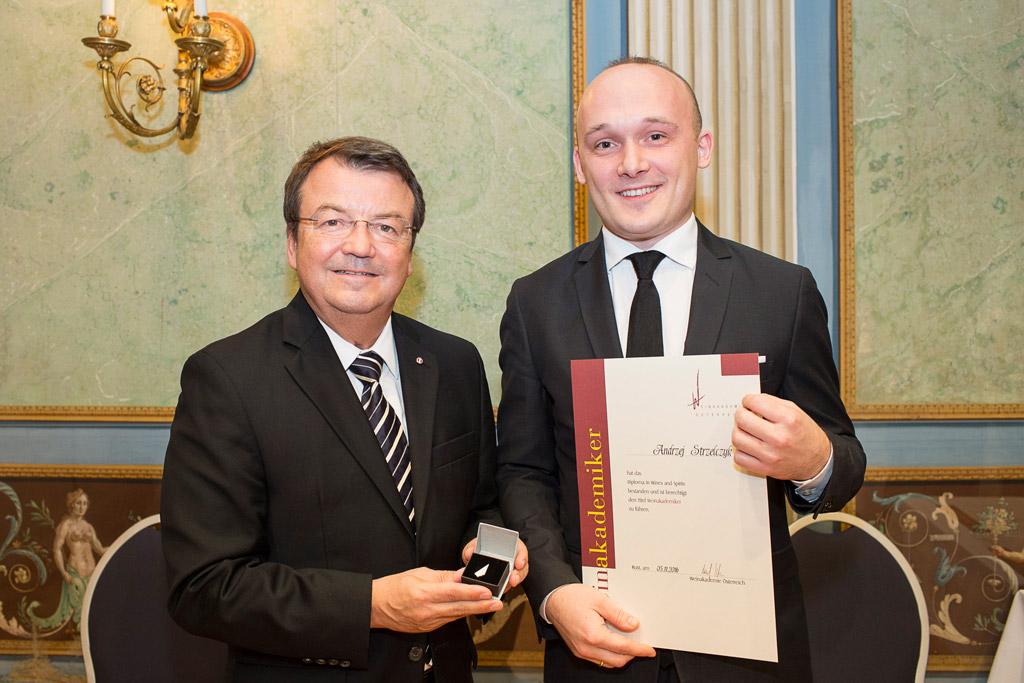 Willi Klinger Andrzej Strzelczyk Weinakademiker
