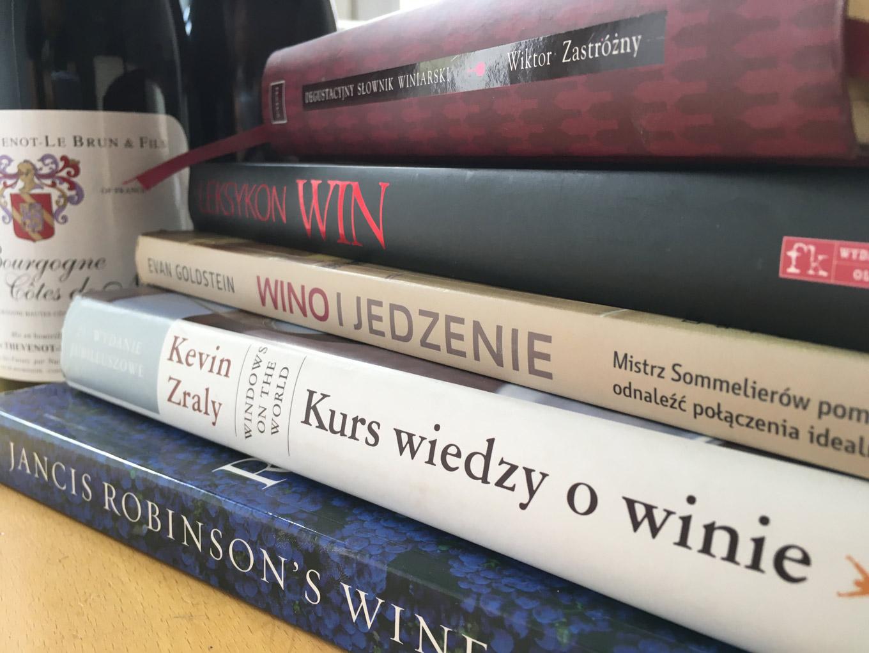 Książki o winie